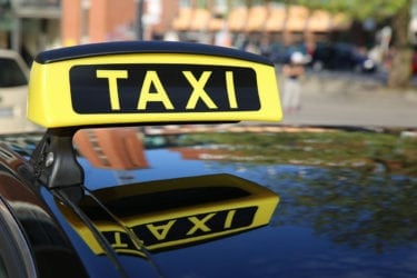 Anreise mit dem Taxi nach Filzmoos