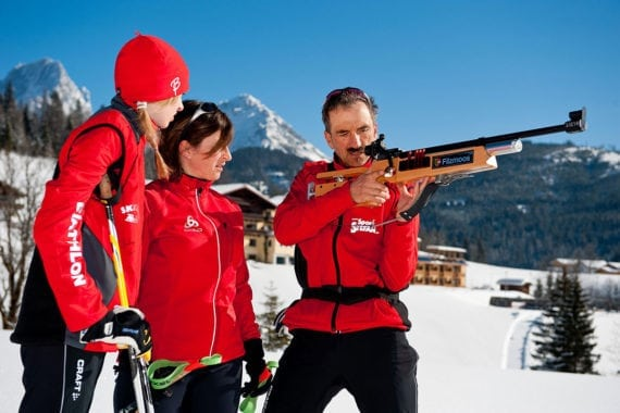 Biathlon, Winterurlaub in Filzmoos