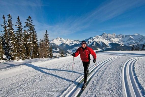 Langlaufen, Winterurlaub in Filzmoos