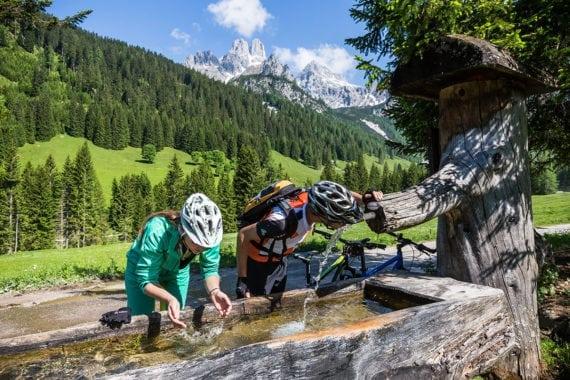 Mountainbiken, Sommerurlaub in Filzmoos