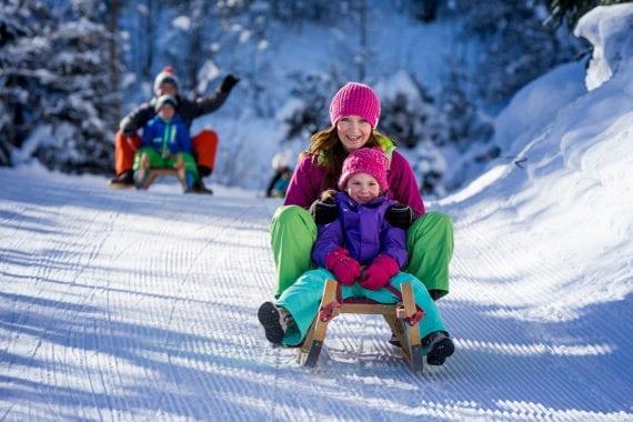 Rodeln, Winterurlaub in Filzmoos
