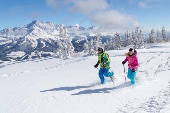Schneeschuhwandern, Winterurlaub in Filzmoos