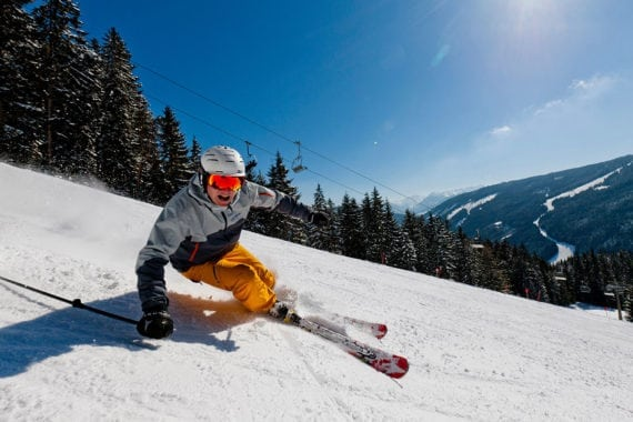 Skifahren, Winterurlaub in Filzmoos