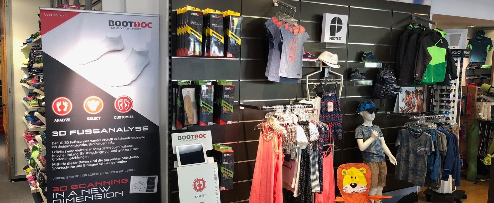 Verkauf, Sportmode, Sportgeräte, INTERSPORT Austria