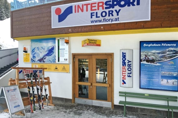 Skiverleih-Shop in Filzmoos - INTERSPORT Flory
