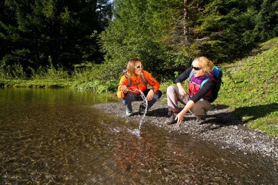 Wandern, Sommerurlaub in Filzmoos